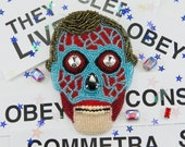 THEY LIVE (1988) Brooch Embroidered with Beads