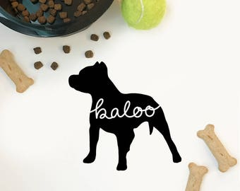 Custom Pitbull Decal