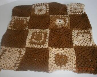 Brown retro Cushion cover