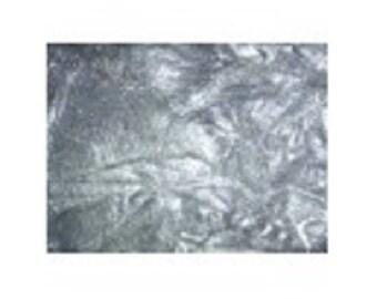 (044) Fiber Angelina bag 10gr light silver color