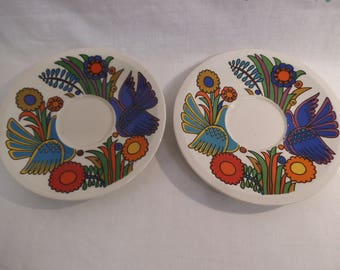 Two Villeroy & BochSaucers Only - Acapulco Design