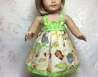 American Girl Doll sundress perfect for hot summer days !