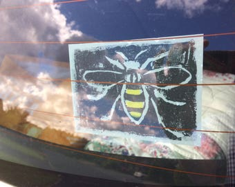 Manchester Bee Vinyl window sticker decal