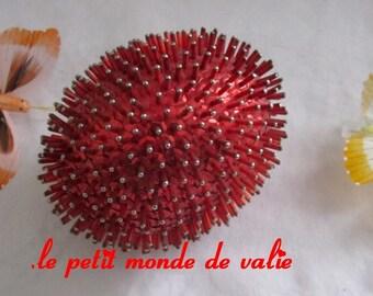 large egg red Porcupine