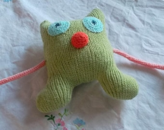 Lime Green Monster Plushie