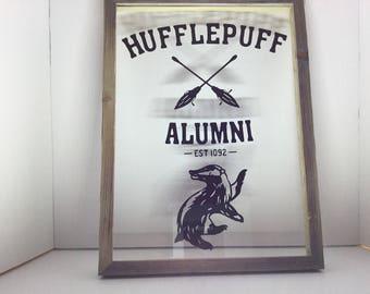 Hufflepuff Alumni Wall Art