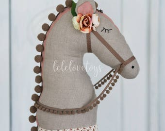 Horse toy, Hobby horse, Princess Rose