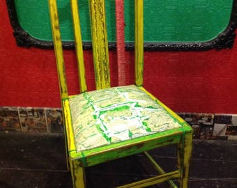 vintage furniture happy chair this will light you life up