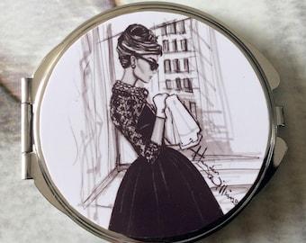 """""""Retro 1950 's"""" Pocket mirrors"""