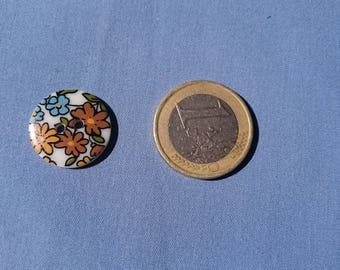 floral buttons 18mm