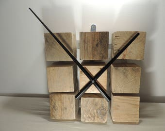 Modern clock wood cleats