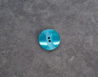 Fancy green 18mm button