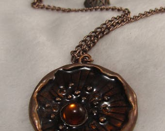 The Locket to Creat the Y. O.N - unique & copper-
