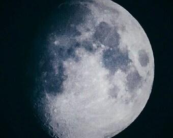 Moon (close up) print