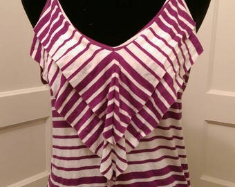 Purple Tank Blouse
