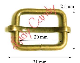 10 ring set for shoulder bag cross body strap attachment #330097