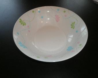"porcelain bowl painted in pastel ""julie"""