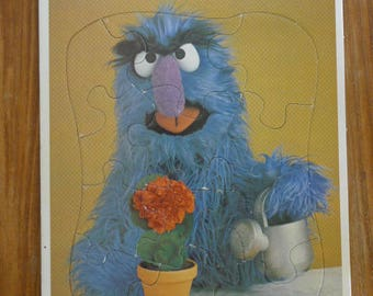 SESAME STREET Herry Monster Puzzle 1983