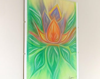 Floral Pastel Art Print
