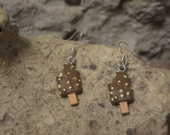 "Earrings ""ice collection"""