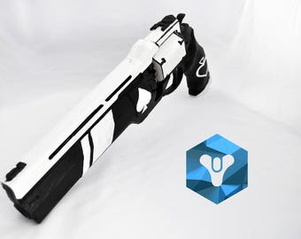 Ace of Spades hand cannon prop