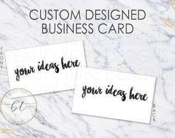 CUSTOM DESIGN Lipsense Business Cards  - lipsense distributor - makeup artist