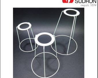 LAMP SHADE FRAMES, Top  ring, Euro Fitter, E27 fitting, White epoxy finish, Various sizes, 10cm to 20cm, Diameter, Drum shades, Lamp Base