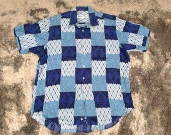 Pierre Balmain Paris buttons-down shirt size L