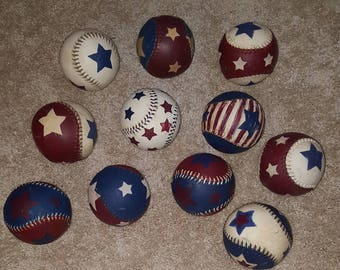 Americana softballs