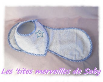 all baby bib and protects shoulder Blue Star