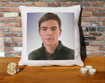Josh Hartnett Pillow Cushion - 16x16in - White