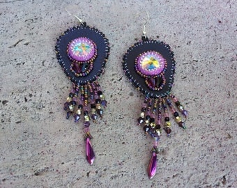 Varija embroidered earrings