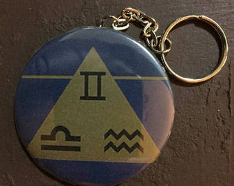Air Element Keychain