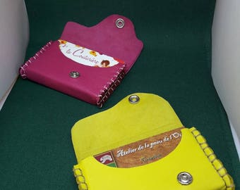 Personalized business card case