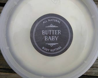 All Natural Body Butter : Soothing, All Natural, Organic, Shea Butter, Olive Oil, Coconut Oil, Dry Skin