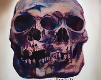 Double skull print