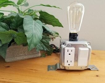Industrial light, lamp, desk lamp, unique lighting