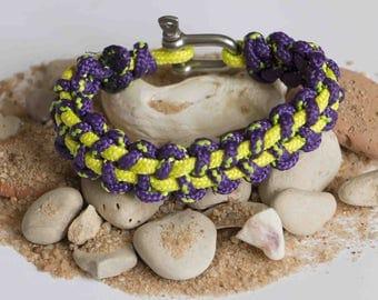 Stitch Manila clasp bracelet