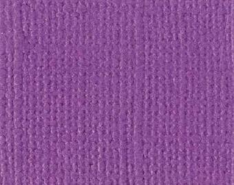Bazzill textured canvas 30 x 30 cm - Ref 11110605 Velvet scrapbooking paper