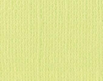 Bazzill textured canvas 30 x 30 cm - Ref 11110509 Limeade scrapbooking paper