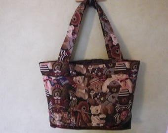 "Handbag ""Teddy bear theme"""