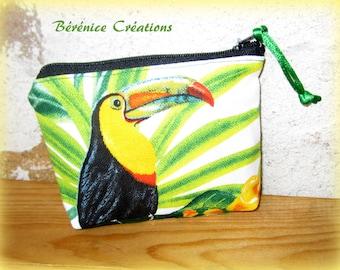 Jungle toucan purse