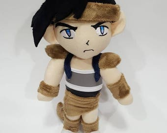 Inu-Yasha Koga custom plush - ready to be shipped