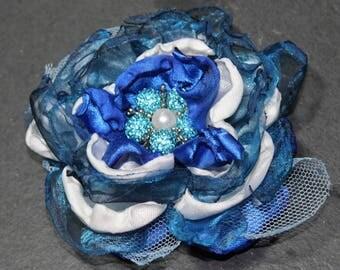 Fabric Flower Brooch/Corsage/Hair accessory