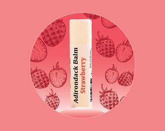 Adirondack Strawberry Lip Balm