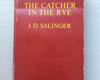 The Catcher in the Rye, adorable 80's paperback