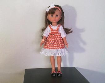 Cute white and orange set