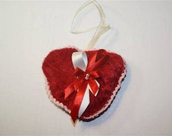 small Lavender heart