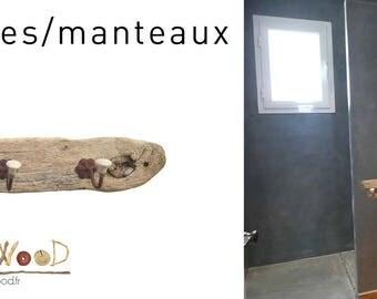 Driftwood coat/Towel holder
