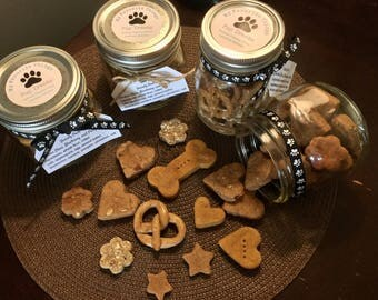 Dog Treats - Peanut Butter, Blueberry, & Chicken Stars - Bag - Pup Treats